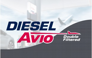 DIESEL AVIO DOUBLE FILTERED